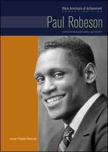 Paul Robeson By Slavicek, Louise Chipley